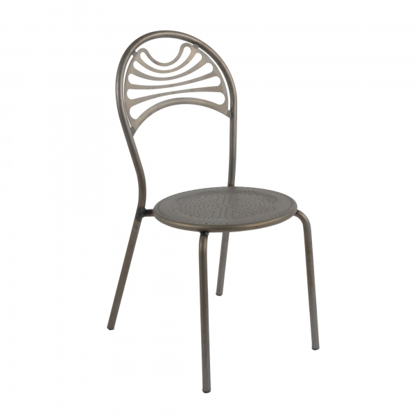 Chaise de jardin contemporaine en métal - Cabaret 26 - 26