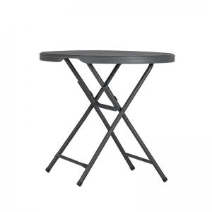 Table snack pliante - Hauteur 90cm