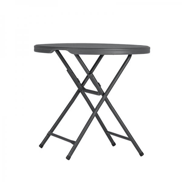 Table snack pliante - Hauteur 90cm - 1