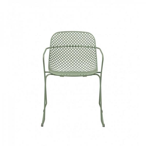 Chaise d'extérieur verte made in France - Ramatuelle Grosfillex - 32