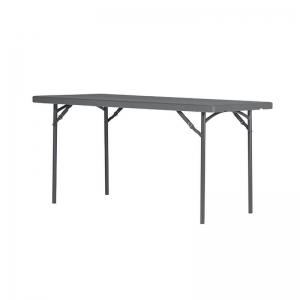 Table pliante en polyéthylène et métal - XL