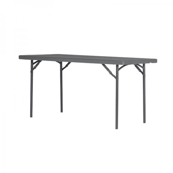Table pliante en polyéthylène et métal - XL - 1