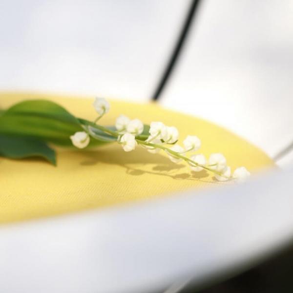 Fauteuil bas d'extérieur blanc design français - Yéyé Grosfillex - 6
