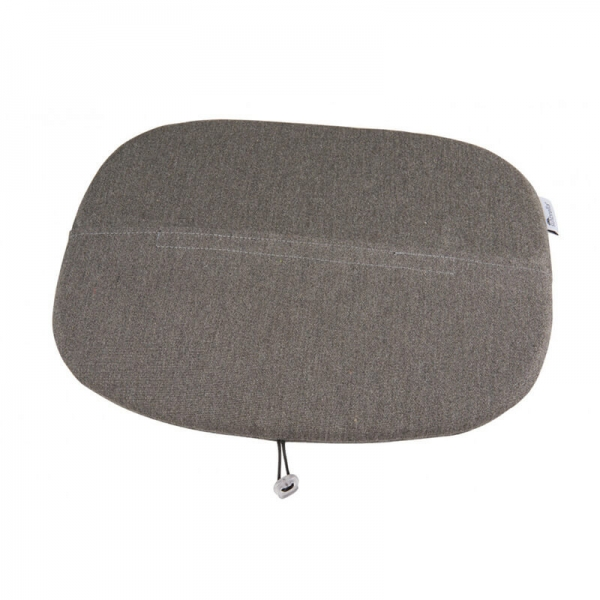 Galette en tissu gris chiné- Ramatuelle Grosfillex - 46