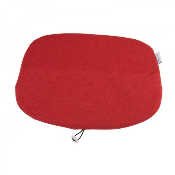 Galette en tissu rouge chiné - Ramatuelle Grosfillex - 49