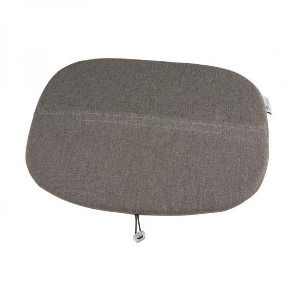 Galette en tissu gris chiné - Ramatuelle Grosfillex - 40