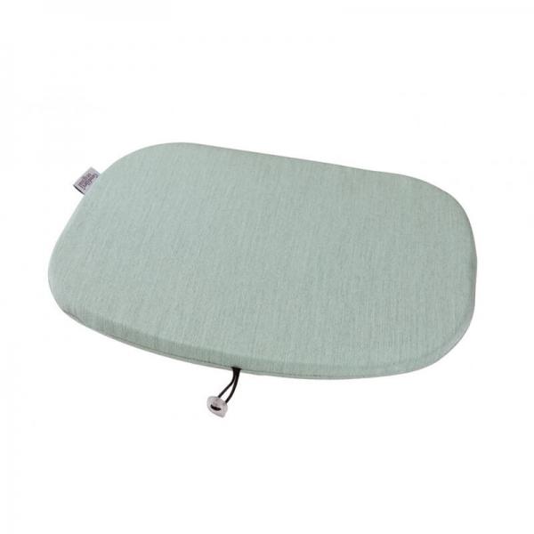 Coussin en tissu bleu chiné - Ramatuelle Grosfillex - 37