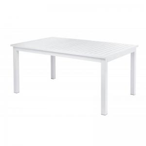 Table rectangulaire extensible blanche - Triptic Grosfillex