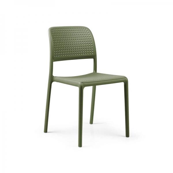 Chaise en polypropylène agave - Bora Bistrot - 19