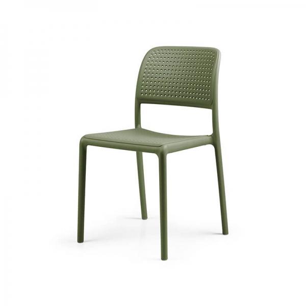 Chaise en polypropylène agave - Bora Bistrot - 20