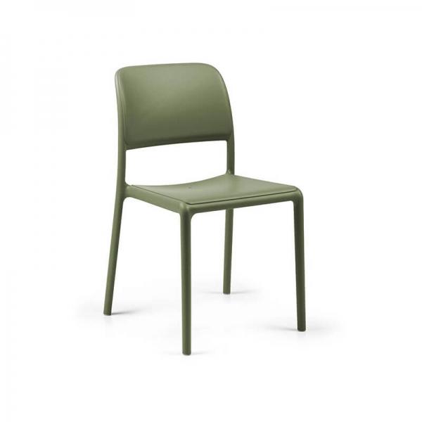 Chaise en plastique polypropylène agave - Riva Bistrot - 15