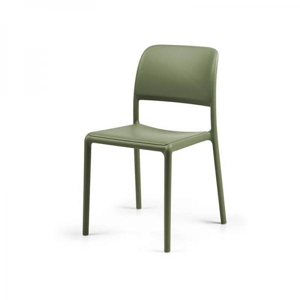 Chaise d'extérieur en plastique agave - Riva Bistrot - 10
