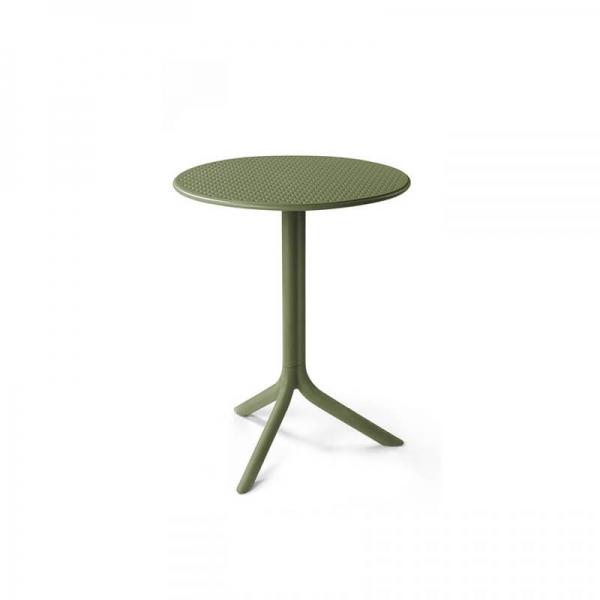 Table d'appoint de jardin en polypropylène agave - Step - 3