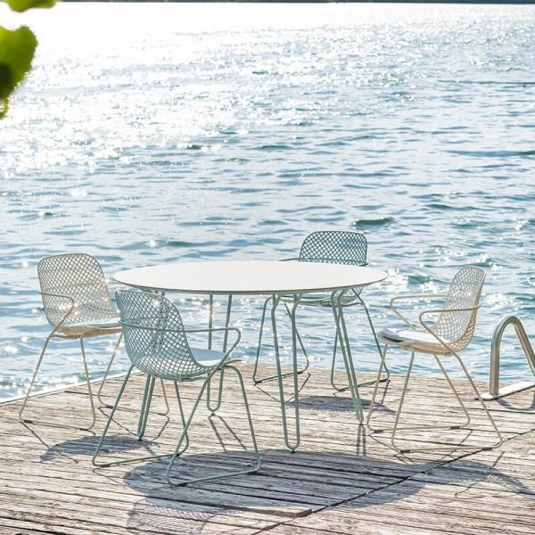 Chaise d'extérieur design vintage made in France - Ramatuelle Grosfillex - 2