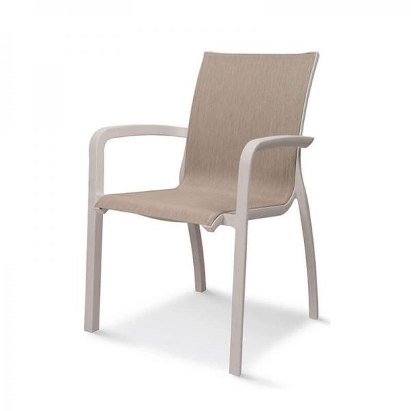 Fauteuil de jardin contemporain en textilène - Sunset Grosfillex - 10