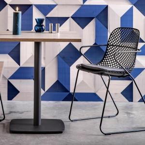 Chaises made in France en polypropylène et métal - Ramatuelle Grosfillex