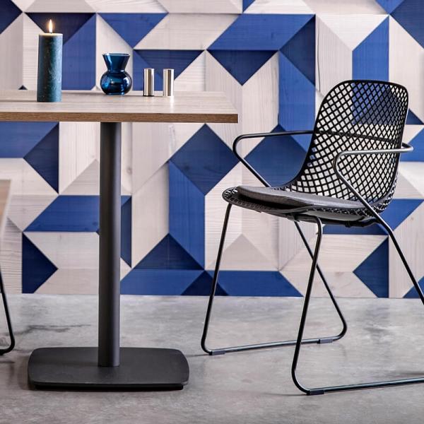 Chaises made in France en polypropylène et métal - Ramatuelle Grosfillex - 1
