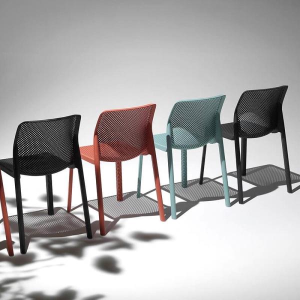 Chaise de jardin moderne en polypropylène - Bit - 5