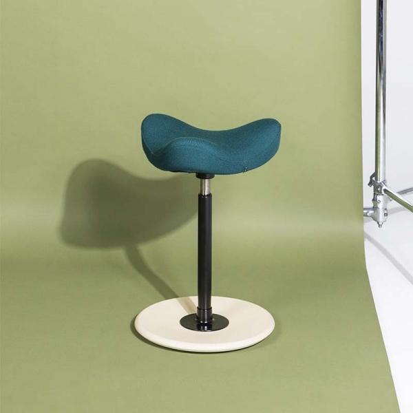 Tabouret ergonomique en tissu bleu vert - Move Small Varier® - 5