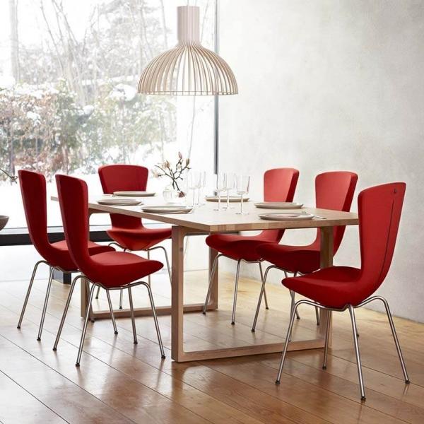 Chaise design ergonomique en tissu et métal - Invite Varier® - 1
