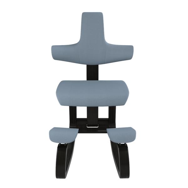 Chaise de bureau ergonomique mal de dos bleu ciel - ThatSit Varier® - 13