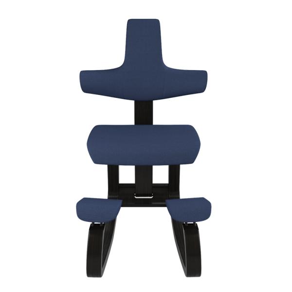 Siège assis genoux avec dossier bleu - ThatSit Varier® - 19