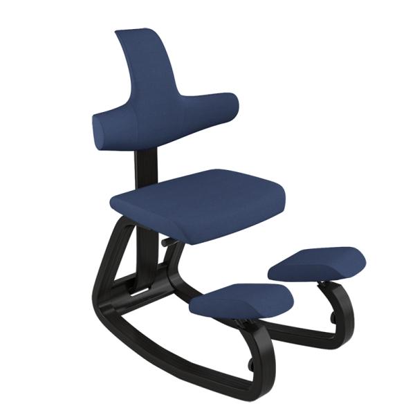 Siège assis à genoux ergonomique en tissu bleu - ThatSit Varier® - 20