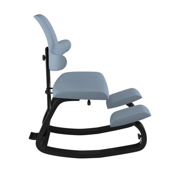 Siège ergonomique de bureau assis genoux bleu - ThatSit Varier® - 15