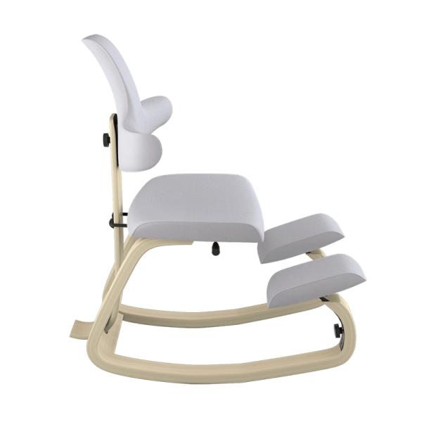 Chaise de bureau assis genoux en tissu gris - ThatSit Varier® - 27