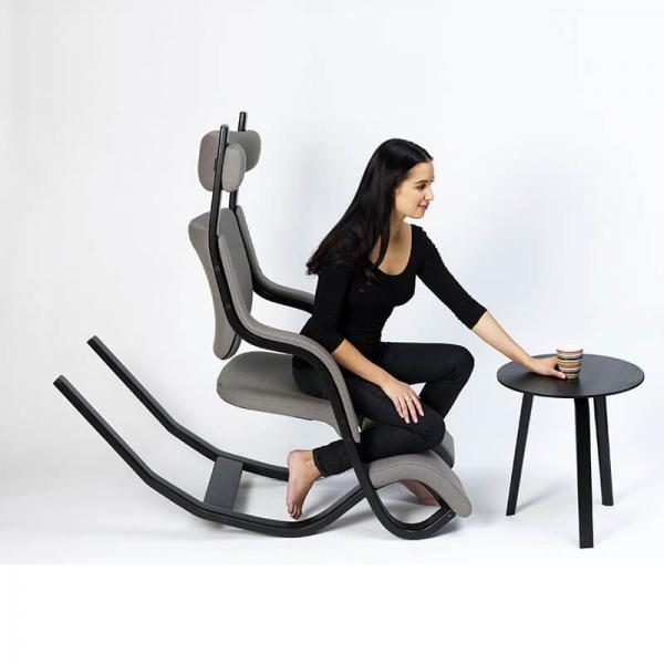Fauteuil multiposition ergonomique en gris - Gravity Varier® - 12