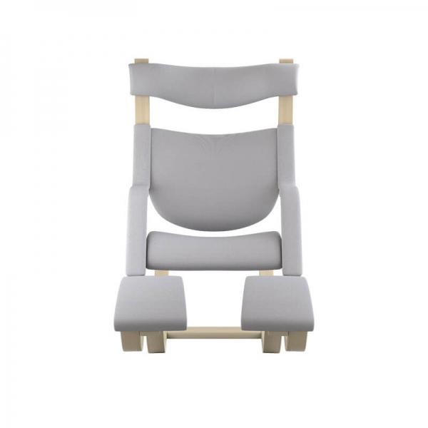 Fauteuil relax design en tissu gris clair - Gravity Varier® - 31