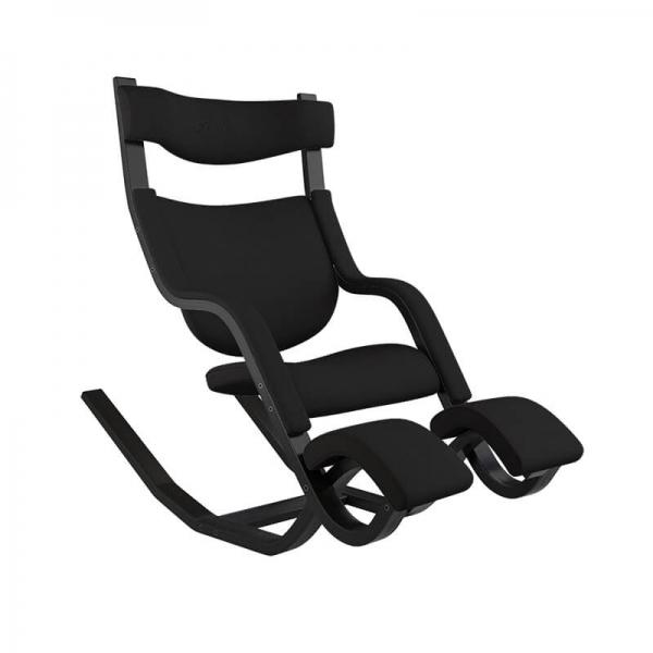 Fauteuil de détente ergonomique réglable en tissu noir - Gravity Varier® - 20