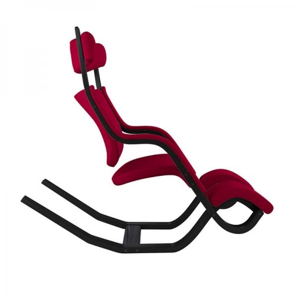 Fauteuil ergonomique de salon rouge - Gravity Varier® - 27