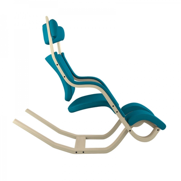 Fauteuil ergonomique de salon bleu - Gravity Varier® - 30