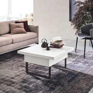 Table basse modulable extensible fabrication italienne - Vision