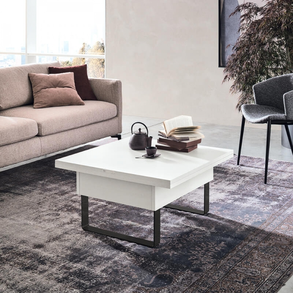 Table basse modulable extensible fabrication italienne - Vision - 1