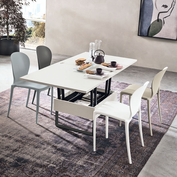 Table basse modulable extensible fabrication italienne - Vision - 2