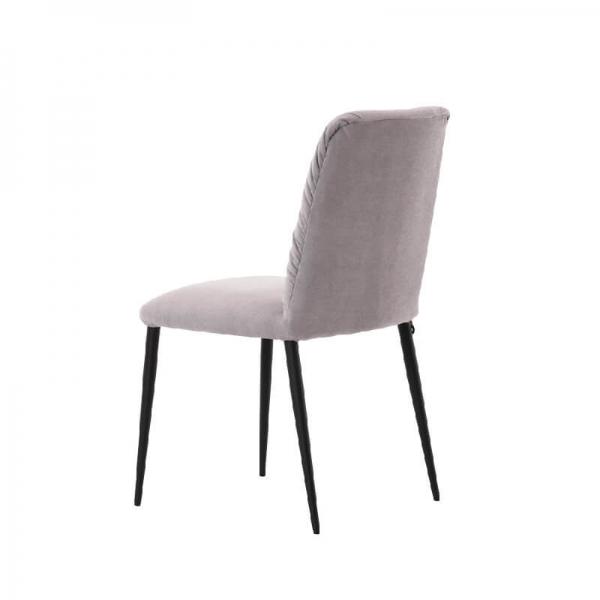 Chaise en tissu et pieds métal - Aura Mobitec® - 4