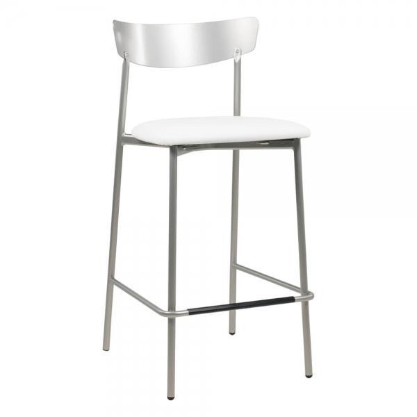 Tabouret hauteur snack tendance de cuisine assise rembourrée - Clip - 28