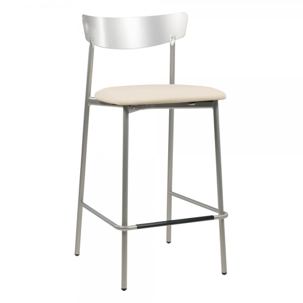 Tabouret hauteur snack tendance de cuisine assise rembourrée - Clip - 31