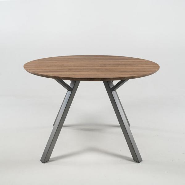 Table ronde de salle à manger plateau naturel - Eros - 2
