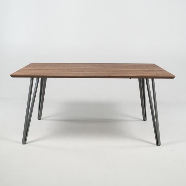 Table de salle à manger design avec pieds épingle - Lutèce - 3
