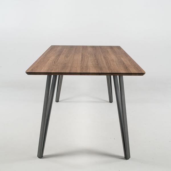 Table de séjour design avec pieds épingle - Lutèce - 4