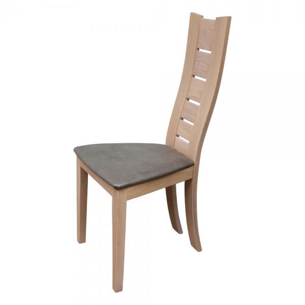 Chaise avec dossier haut de fabrication française - Anis 1450 - 2