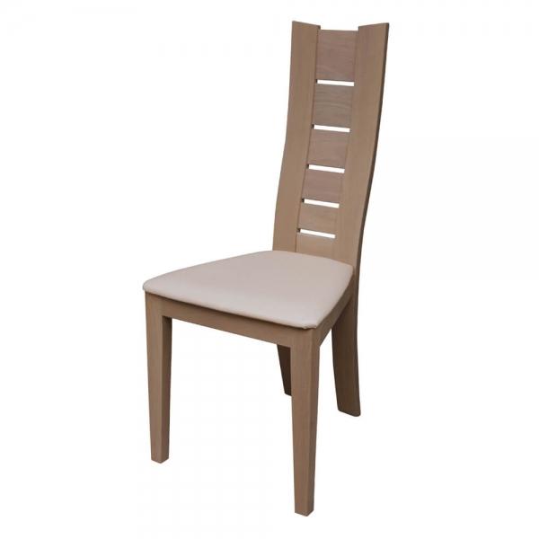 Chaise contemporaine à barreaux en bois massif - Anis 1450 - 5