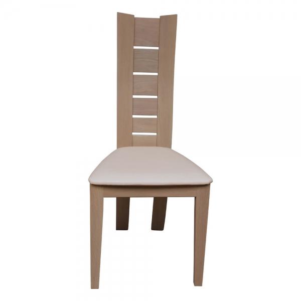 Chaise de salle à manger contemporaine en bois massif - Anis 1450 - 6