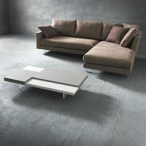 Table basse bicolore en mélaminé - Erica 6