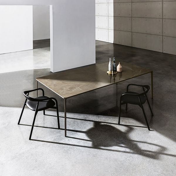 Table en céramique design extensible -  Slim Sovet® 2 - 2