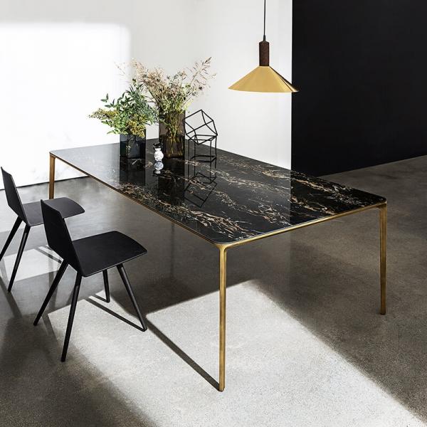 Table en céramique design extensible -  Slim Sovet® - 1