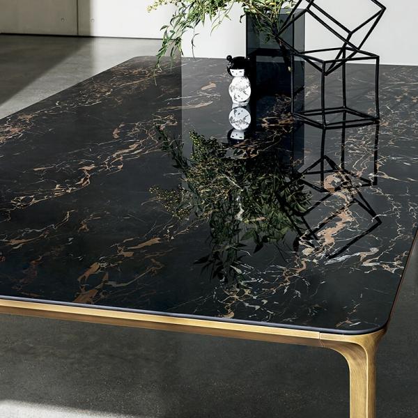 Table en céramique design extensible -  Slim Sovet® 7 - 7
